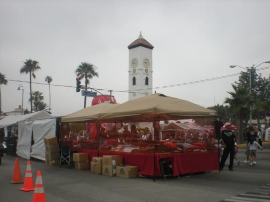 Booths in Downtown Ensenada