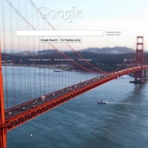 Google Golden Gate Bridge