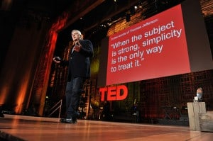 Philip K. Howard presents a TED conference