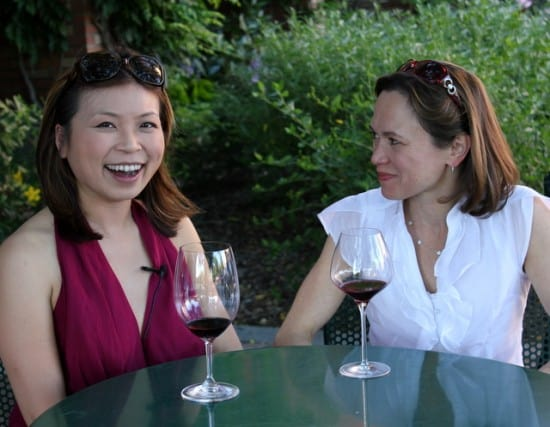 Loni Kao Stark and Andrea Robinson talk Walla Walla, Napa and Wine