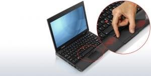 ThinkPad X100e keyboard