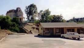 Bates Motel on the Universal lot