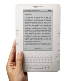 Amazon Kindle: Likes the sun.