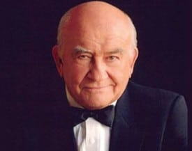 Ed Asner to speak at Rotary Club San Jose.  Photo: The Theatre Guild, Inc.