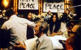 Recording Give Peace A Chance. Source: Wikipedia.