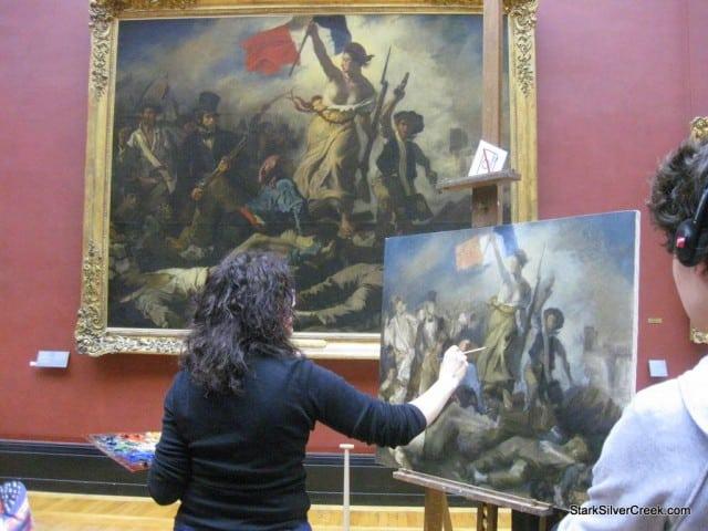 Louvre Paris Saturday Morning