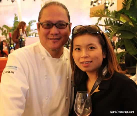 Pebble Beach Food Wine Grand Tasting with Morimoto