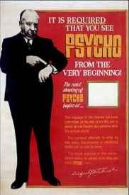 Psycho promotional poster