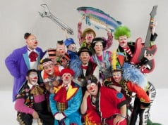 Ringling Brothers Clown Alley
