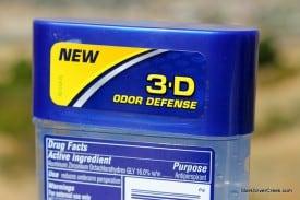 New 3-D Odor Defense