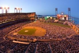 Opera at the Ballpark Simulcast photo by Edgar Lee