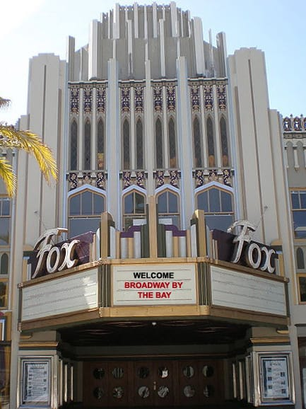 Broadway By the Bay to move to historic Fox Theatre, Redwood