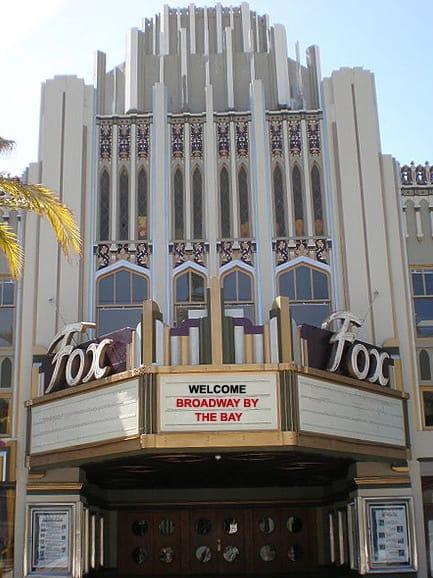 The Fox Theatre, Redwood City