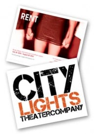 RENT, City Lights Theater Company, San Jose