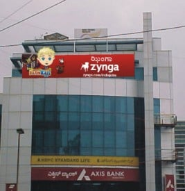 Zynga's office in India