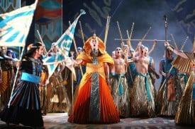 Verdi's Aida photo by Tristram Kenton