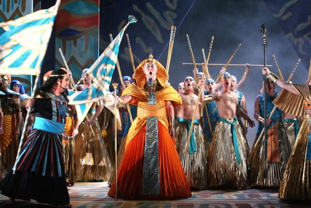 Verdi's Aida photo by Tristram Kenton