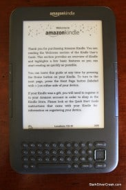 Amazon Kindle 3 first impressions