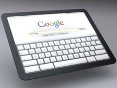Google Chrome OS Tablet mock-up
