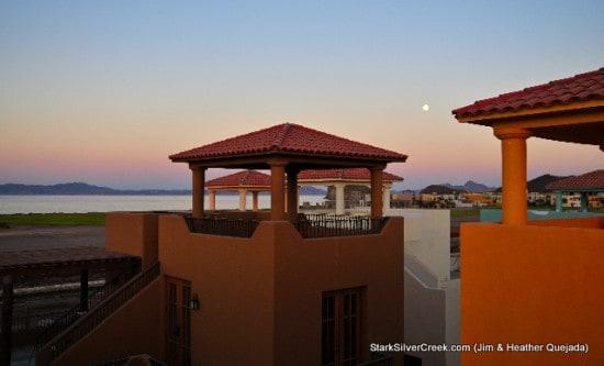 Moon Rises Over Loreto Bay