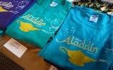 Aladdin shirts.
