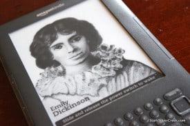Amazon Kindle 3 Screensaver