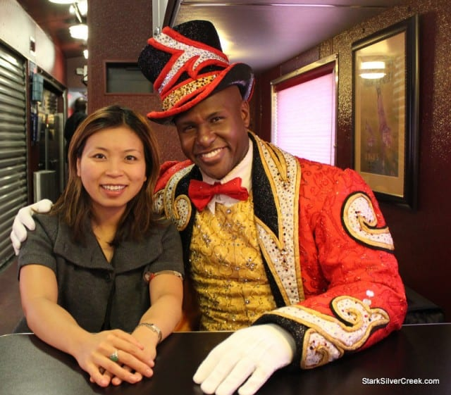 Loni with RIngmaster Johnathan Lee Iverson