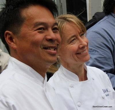 Charles Phan and Emily Luchetti