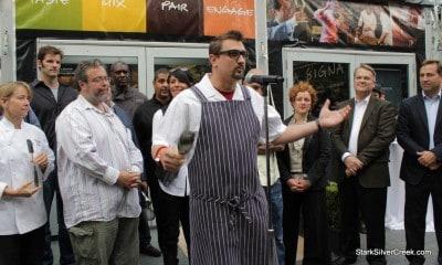 Chef Chris Cosentino. No poem?