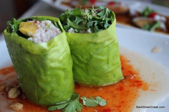 Sansei's Mango Crab Salad Roll