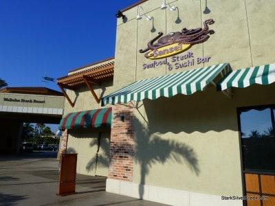 Front of Sansei restaurant at Waikoloa Beach Resort on the Big Island.