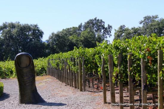 """Thumb"" (Le Pouce) Clos Pegase Winery"