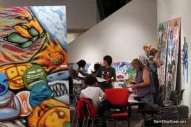 """""""Soup of Creativity"""" Words Painting Music @ WORKS/San Jose"""