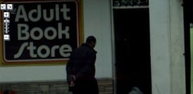 Google Street View: Adult book store