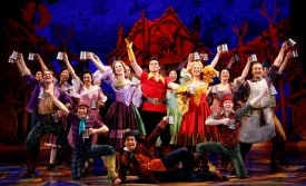 Nathaniel Hackmann and the Company. Photo by Joan Marcus.
