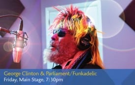 George Clinton to perform at San Jose Jazz Festival