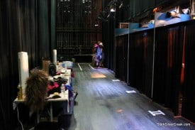 Backstage at Menopause The Musical