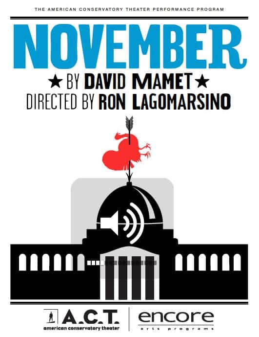 November, ACT program cover