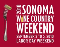 2010 Sonoma Wine Country Weekend