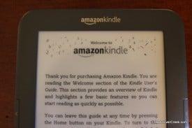 Amazon Kindle 3 Display