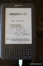 Amazon Kindle sticker?
