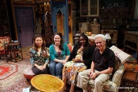 L-R: Loni Kao Stark, Jessica Wortham (Susannah), Jannies Jones (Pearl), Rick Lombardo (artistic director)