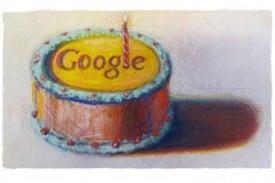 Happy 12th Birthday Google