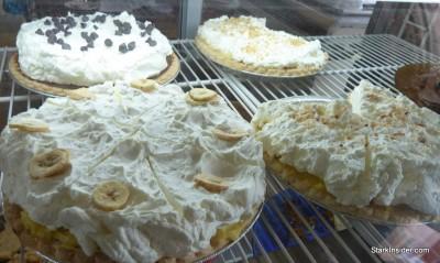 Dessert display at Hana Hou