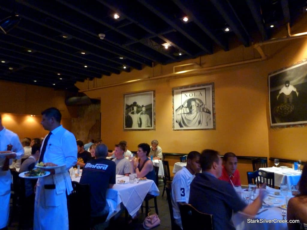 Nola restaurant emeril lagasse for Dining near at t park