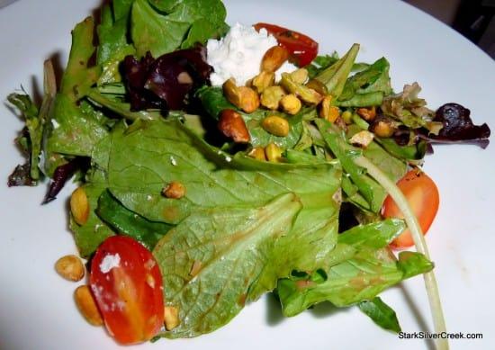 Salad at NOLA's