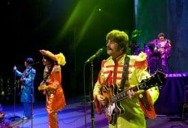 Broadway San Jose presents RAIN, a Tribute to Beatles. Photo credit: Cylla von Tiedemann.