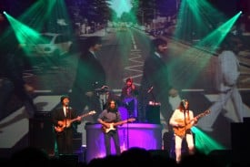 Broadway San Jose presents RAIN, a Tribute to Beatles. Photo credit: Joan Marcus.