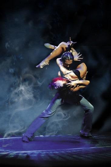 Broadway San Jose presents BURN THE FLOOR, fresh from its successful run on Broadway.  Pictured above: Mirko Sciolan & Nuria Santalucia from the original Broadway cast. Photo credit: Lindsay Hebbard.