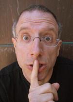 "Hypnotist Allen Gittelson teaches us ""The Secret Language"" PHOTO: Kazumi Kusano."